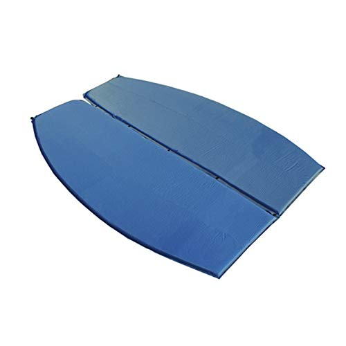 Almohadillas autoinflables al aire libre para acampar tiendas de campaña, a prueba de humedad, colchoneta de aire individual con almohada colchón-1P