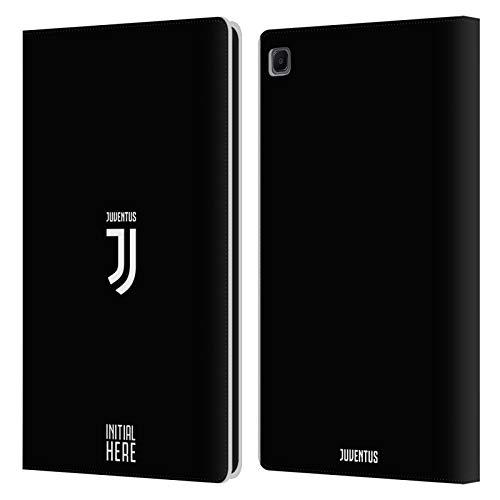 Head Case Designs Personalizzata Personale Juventus Football Club Cresta Semplice Cover in Pelle a Portafoglio Compatibile con Samsung Galaxy Tab S6 Lite
