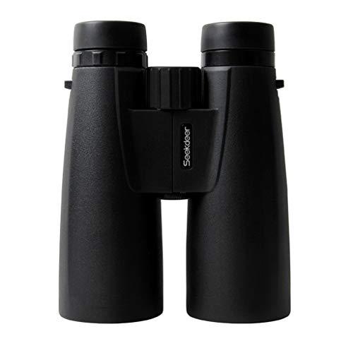 WXFQX 12x50 Fernglas, Compact Folding Vogelbeobachtung Fernglas mit Super Clear, Wasserdicht HD, hohe Vergrößerung
