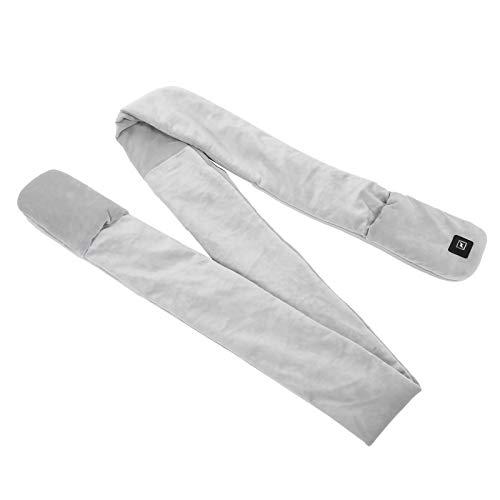 Bufanda con calefacción eléctrica USB, almohadilla transpirable con calefacción para bufanda con calefacción para el cuello, 2,4 metros para mujeres y hombres