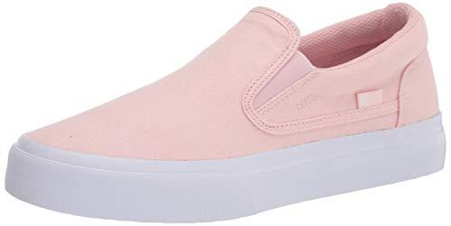 DC Women's Trase Slip Skate Shoe, Light Pink, 9