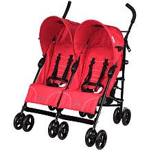 Mia Moda Facile Double Umbrella Stroller, Flame