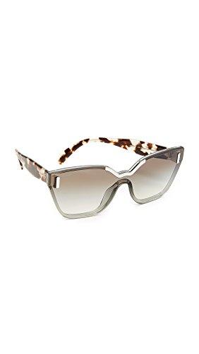 Prada Women's 0Pr16Ts Vip0A7 48 Sunglasses, Light Grey/G