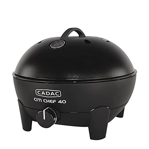Cadac Black Citi Chef 40 Table Top Portable Gas Barbecue