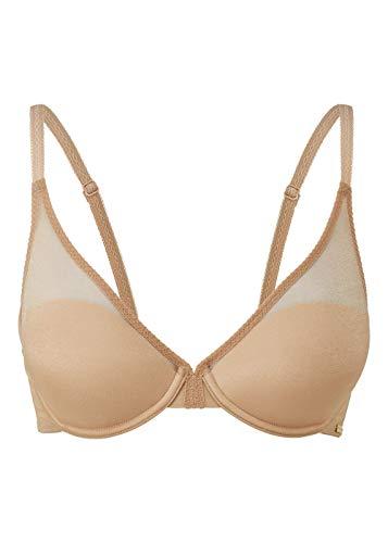 Gossard Women's Glossies High Apex Light Padded Bra, Nude, 36C