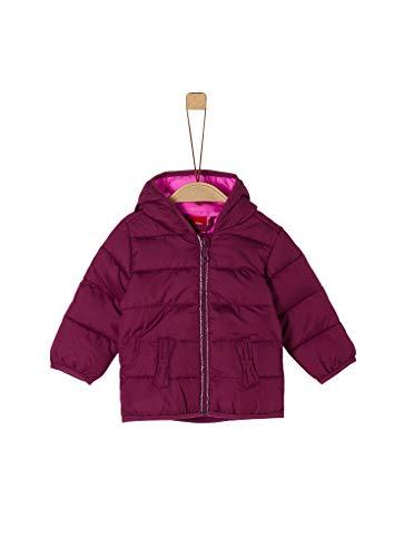 s.Oliver Junior Baby-Mädchen 405.12.008.16.150.2054102 Steppjacke, Purple, 74
