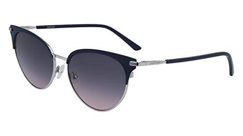 Calvin Klein EYEWEAR CK19309S gafas de sol, BLUE SUEDE, 5516 para Mujer