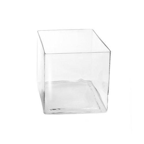 Vase eckig 20 x 20 cm Cube