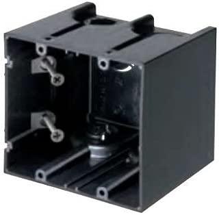 Arlington F102 2 Gang Screw Mount Device Box