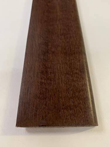 Battiscopa riverstito in legno mm.70x10x2400 confezione pz.5 totale mt. 12,00. Made in Italy (Tinta noce scuro mm.70x10x2400 mt.12,00)