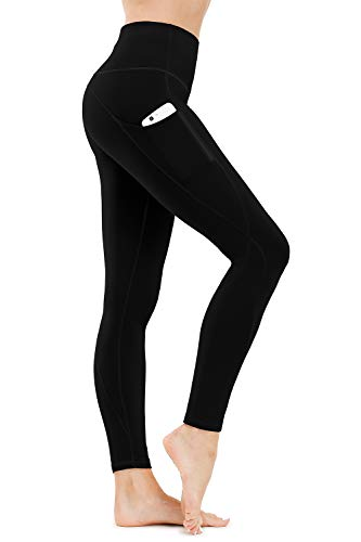 Fashion Shopping TUNGLUNG High Waist Yoga Pants, Yoga Pants with Pockets Tummy