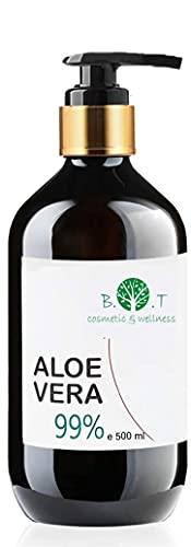 100% Naturel Gel de Aloe Vera Hydratant Visage Corps Cheveux Après l'épilation Feu du...