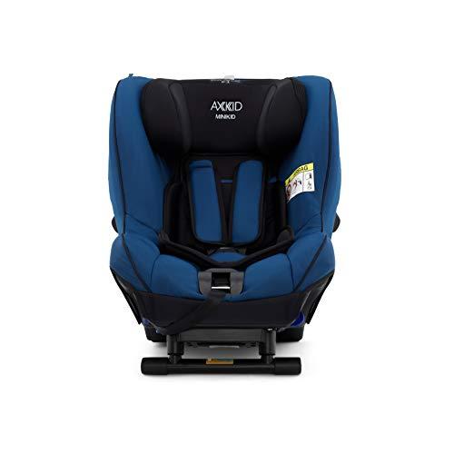 AXKID MINIKID 2 Silla de Coche Grupo 0, 1 y 2, Asiento de Automóvil para Niños de 0-25 Kg, Sillita para Coche, Silla de Coche de Bebé de 6 Meses hasta 6 Años (Azul)