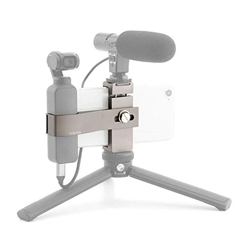 XIAODUAN-Accessories- - Multifunction Aluminum Alloy Smartphone Fixing Clamp Expansion Holder Bracket for DJI New Pocket