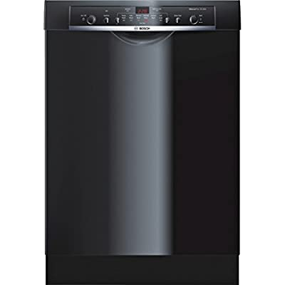 "Bosch SHE3AR76UC Ascenta 24"" Black Full Console Dishwasher - Energy Star"