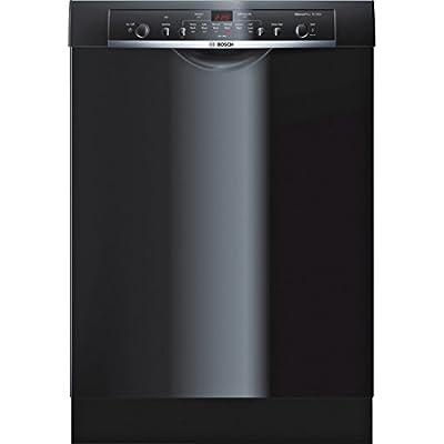 """Bosch SHE3AR76UC Ascenta 24"""" Black Full Console Dishwasher - Energy Star"""