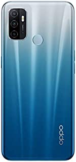 "Oppo A53 Smartphone Fancy Blue 6GB + 128GB, 186G, CPH2127, 8.4mm Thickness, Anroid 10, 5000 mAh, 6.5"" display"