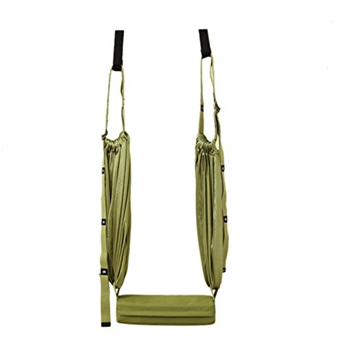 Heritan Manijas Anti-Gravity Yoga Techo Hamaca Volador Swing Silla Trapecio Yoga Inversión Dispositivo Verde