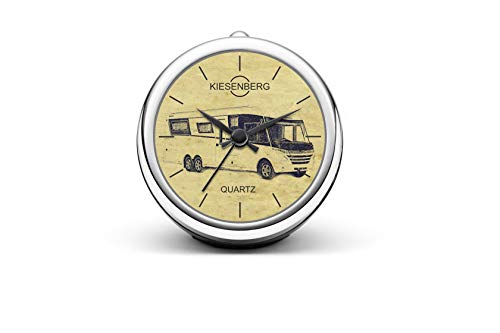 KIESENBERG Design Tischuhr Geschenk für Dethleffs Alpa i Wohnmobil Fan Uhr T-6598