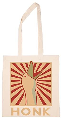 Enigmae Honk Goose Riutilizzabile Shopping Drogheria Cotone Borsa Reusable Shopping Bag