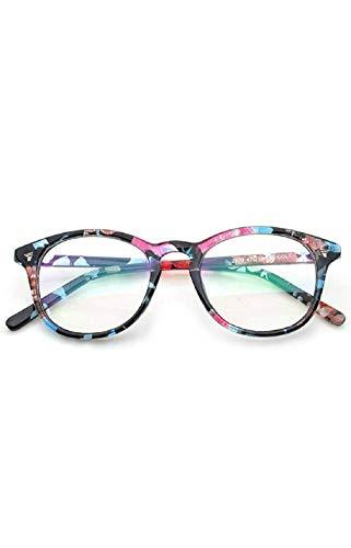 Peter Jones Round Anti Glare Reading Glasses for Men Women, Computer Readers UV 400 Customise Prescription (DE489)