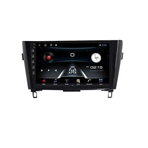 ADMLZQQ Radio de Coche Navegación GPS, 10 Pulgadas 2 DIN para Nissan X-Trail 2013-2017 con Bluetooth Carplay DSP SWC RDS AUX Soporte USB Control Volante Cámara Marcha atrás Monitor reposacabezas,M150