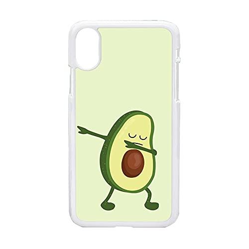 Compatible para Samsung A50 Niños A Prueba De Choques Teléfono Caja Pc Impresión Avocado