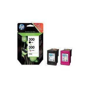 2 Original HP Druckerpatronen Deskjet F4210 Schwarz+Farbe (Cyan, Magenta, Gelb)
