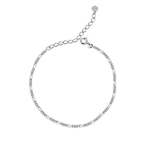 SINGULARU ®Tobillera Chain para Mujer Latón