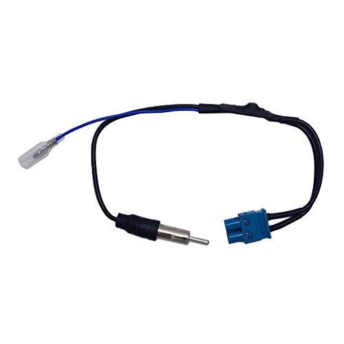 MagiDeal 2 FAKRA à 1 Din Câble Antenne Radio Din de Voiture