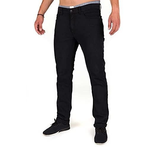 Bleed Herren Active Jeans 2.0, schwarz, L
