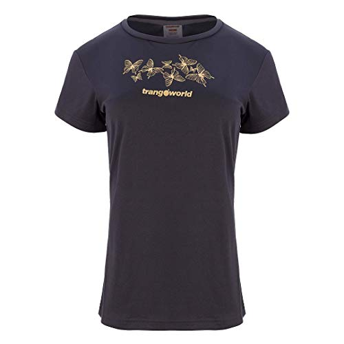 Trangoworld Taya Camiseta, Mujer, Antracita, S