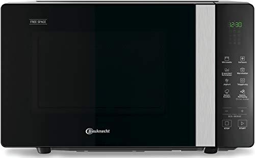 Bauknecht MF 201 B - Microondas (800 W, función de inicio rápido, función de mantenimiento en caliente, función de descongelación del pan, función de yogur, función de inicio rápido)