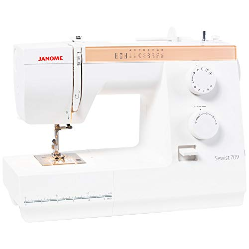 Janome Sewist 709 Sewing Machine, White