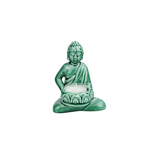 Butlers Buddha Statue für Teelicht