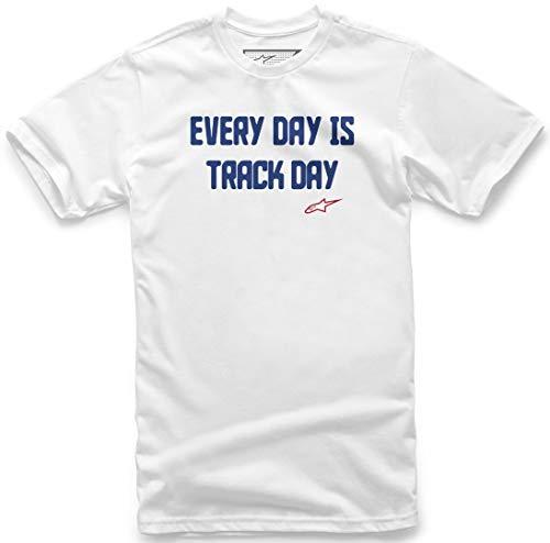 Alpinestars Track Day T-Shirt Weiß XXL
