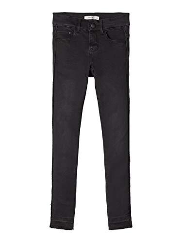 NAME IT NAME IT Mädchen NKFPOLLY DNMTAFFY 7076 Pant NOOS Jeans, Schwarz (Black Denim Black Denim), 116