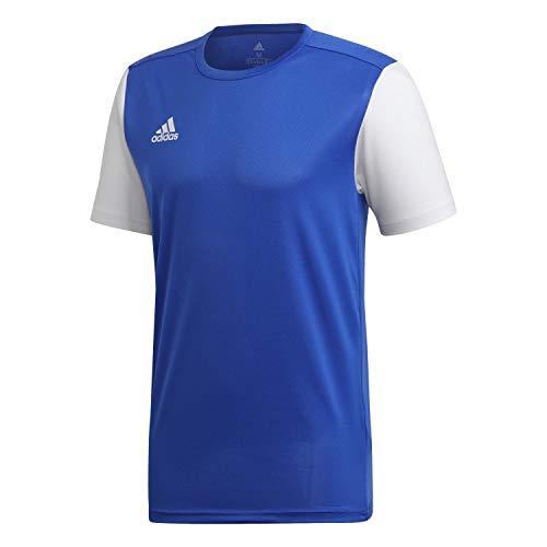adidas Estro 19 JSY, Maglia Manica Corta Uomo, Blu (Bold Blue), L