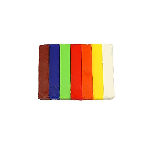 Pelikan Nakiplast - Masa Moldeable, Barras de 125gr, 7 Colores, Cera de Abeja Natural, Sin Disolventes
