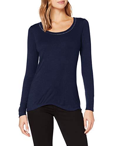 Damart tee Shirt Manches Longues BIOACTIF-58138 Ropa Interior, Azul Marino, M Mujer