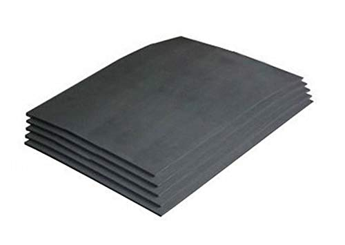 Laserable Rubber NeW Bundle of 5 Pcs Rubber Sheet for Laser Engraving Machine of 2.3mm size
