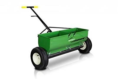 """GANDY 36"""" Variable Rate Drop Spreader with Push-Handle and 13"""" Pneumatic Wheels"""