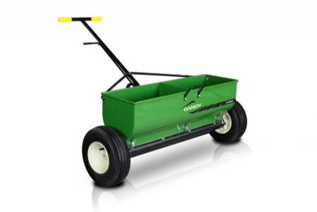 Why Should You Buy GANDY 36 Variable Rate Drop Spreader with Push-Handle and 13 Pneumatic Wheels