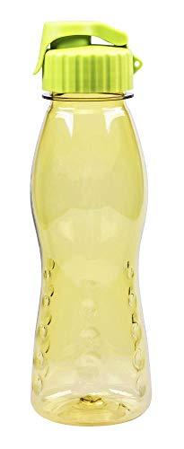 Steuber culinario Trinkflasche Flip Top, BPA-frei, 700 ml Inhalt, olivgrün