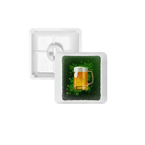 Bier Ierland St.Patrick's Day PBT Keycaps voor Mechanisch Toetsenbord Wit OEM Geen Markering Print R2 Multi kleuren