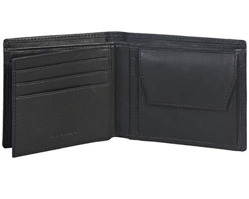 Amazon Brand - Eono Geldbörse aus Leder für Damen und Herren – Flaches Design mit RFID Ausleseschutz-Funktion