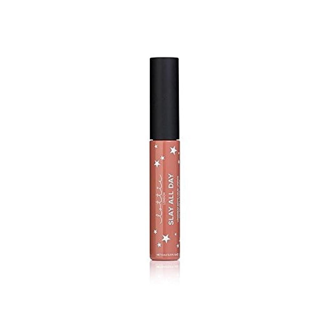 オリエンテーション素子持参- ロンドンマット液体口紅を x2 - Lottie London Matte Liquid Lipstick - Fleek (Pack of 2) [並行輸入品]