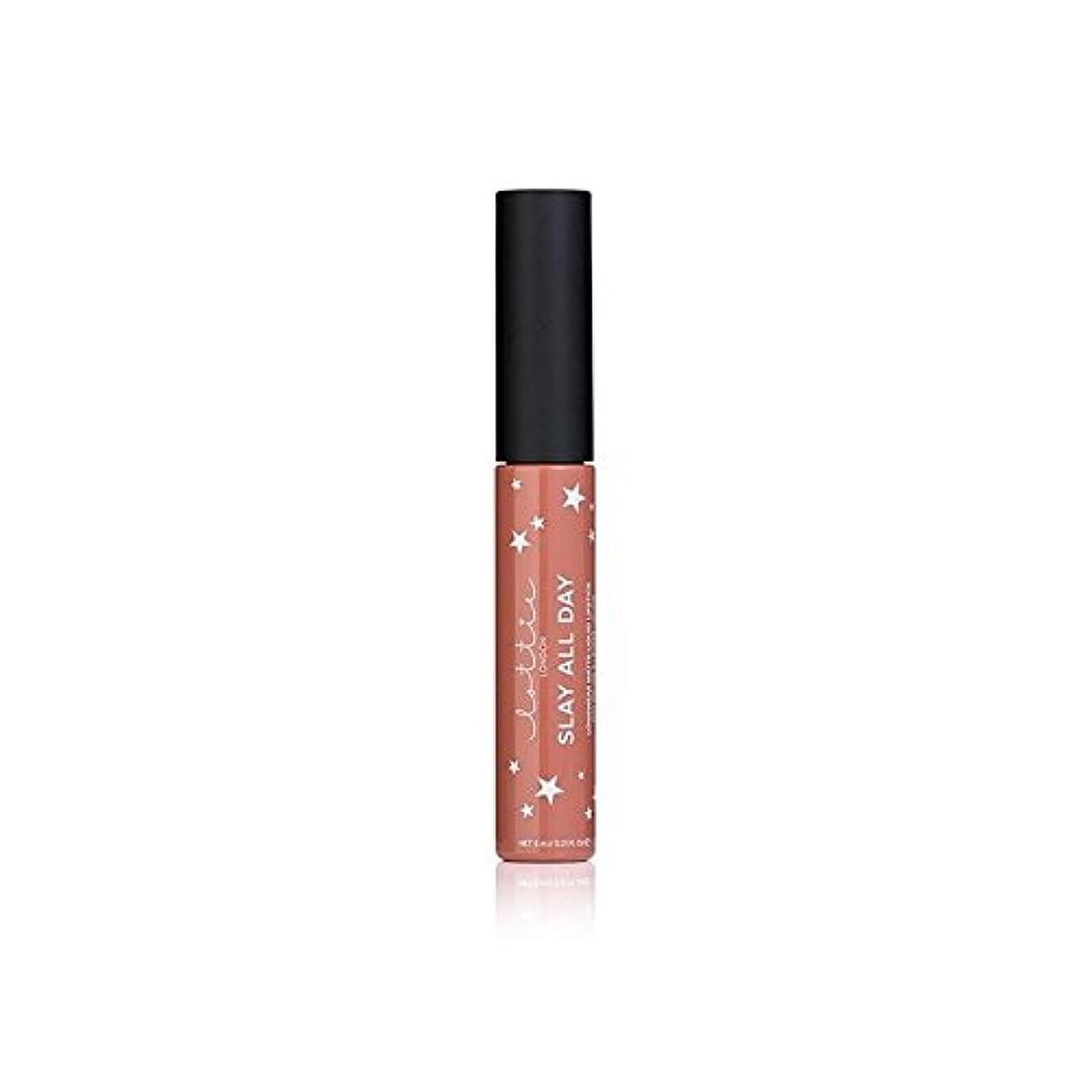 劇場車両ハードウェア- ロンドンマット液体口紅を x4 - Lottie London Matte Liquid Lipstick - Fleek (Pack of 4) [並行輸入品]