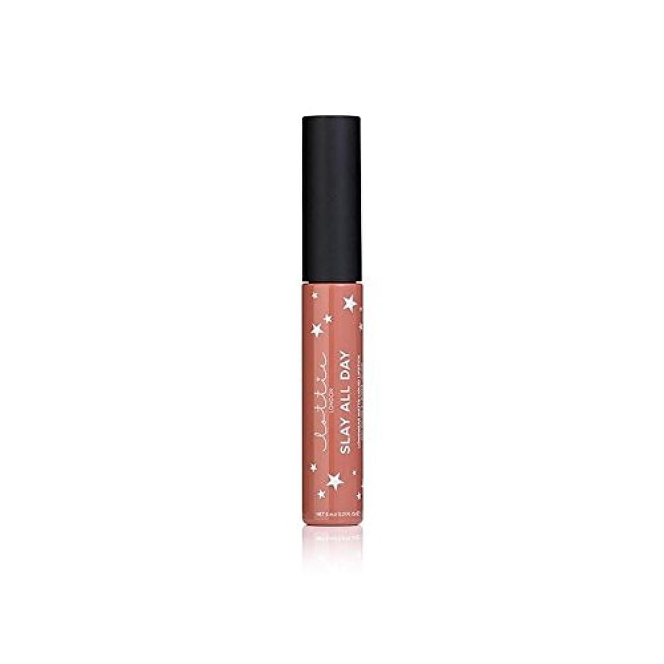 原告絶対のピークLottie London Matte Liquid Lipstick - Fleek (Pack of 6) - - ロンドンマット液体口紅を x6 [並行輸入品]