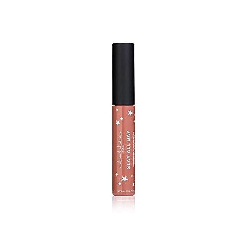 泥棒スーダン妻- ロンドンマット液体口紅を x4 - Lottie London Matte Liquid Lipstick - Fleek (Pack of 4) [並行輸入品]